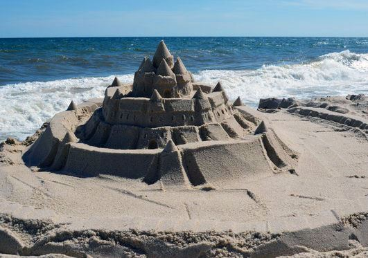 Imgae of Coopers Beach Sandcastle contest