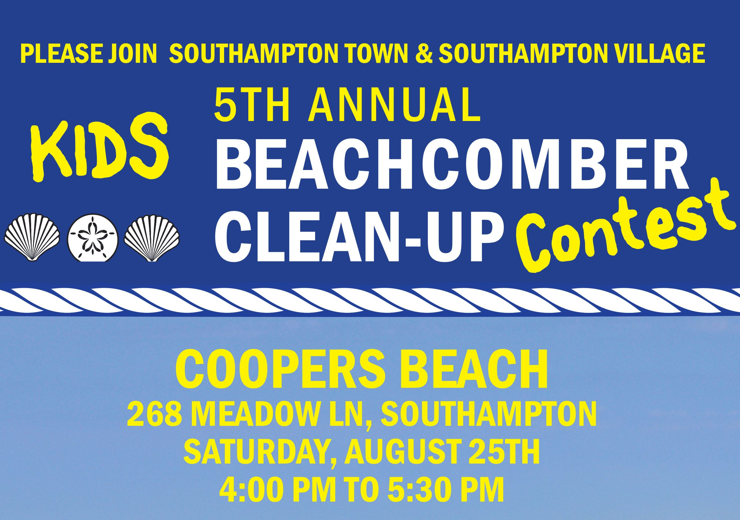 Image of Beach cleanup contest