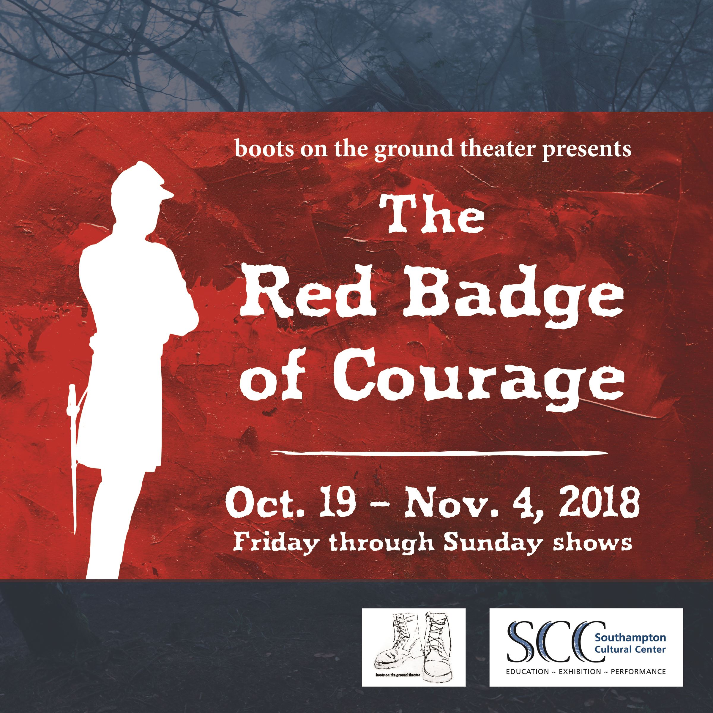 image of Red Badge of Courage ad