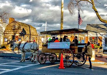 image of Holiday Horse and Buggy 366
