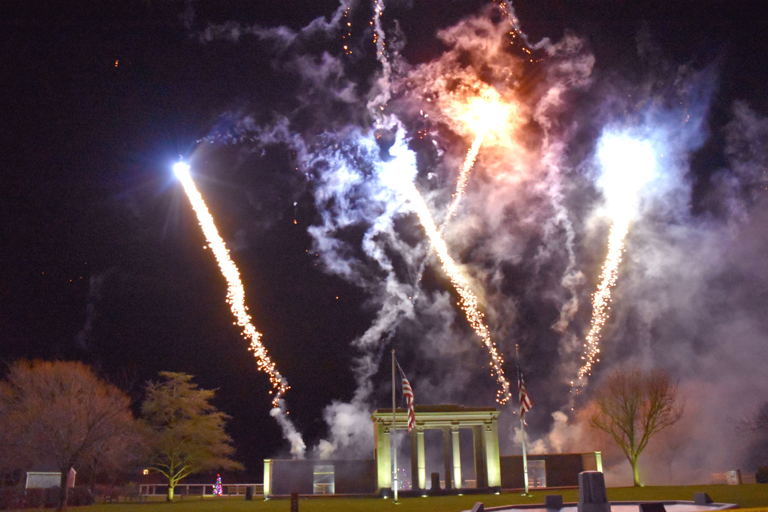 Image of Fireworks display