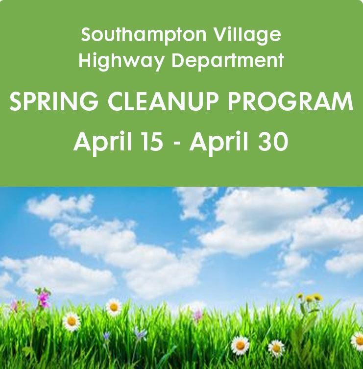 Image of Spring Cleanup