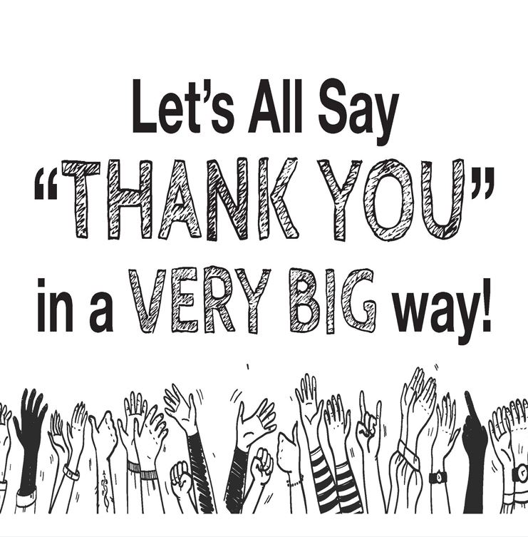 Image of Say thank you logo
