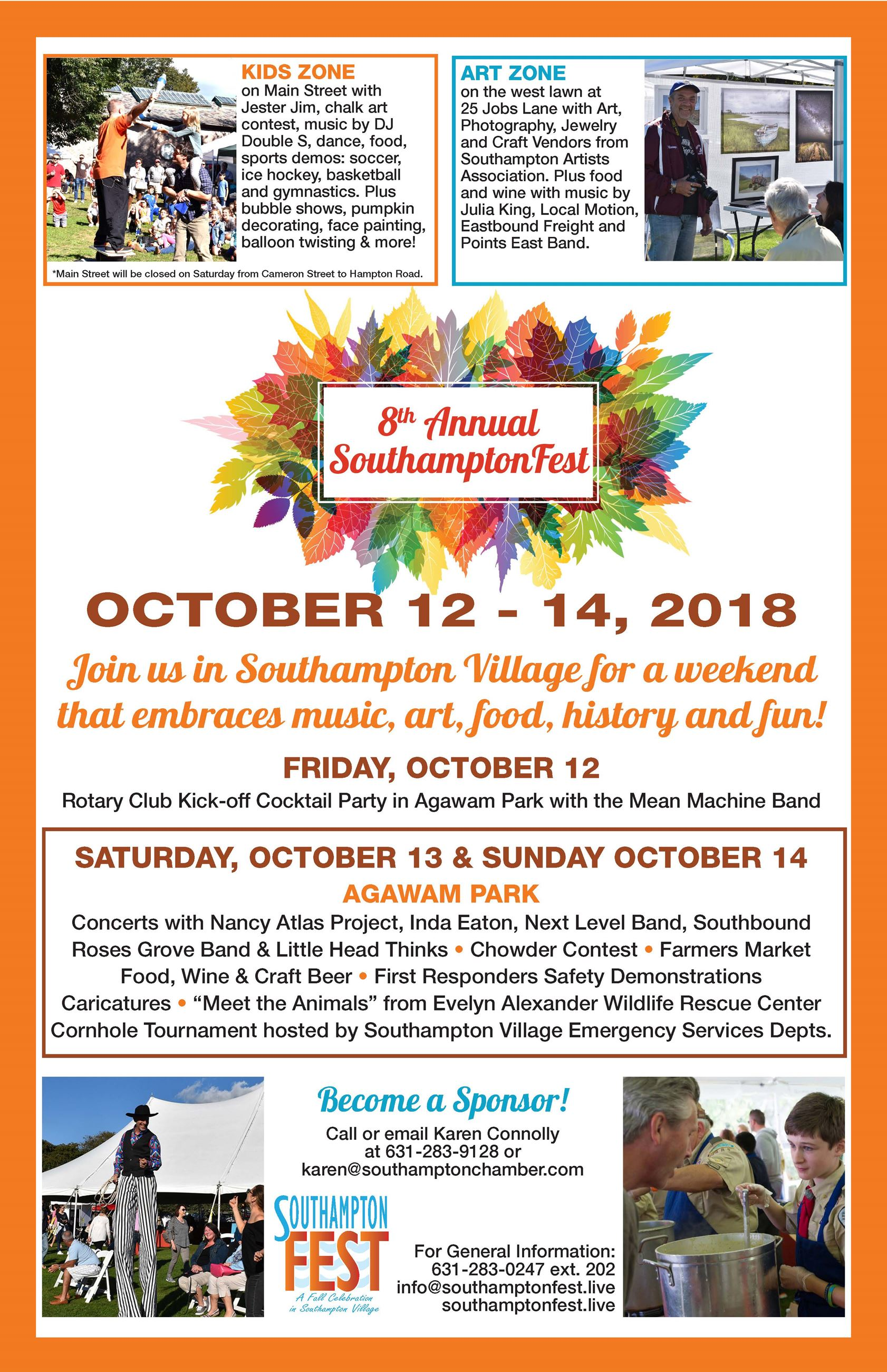 Image of SouthamptonFest poster