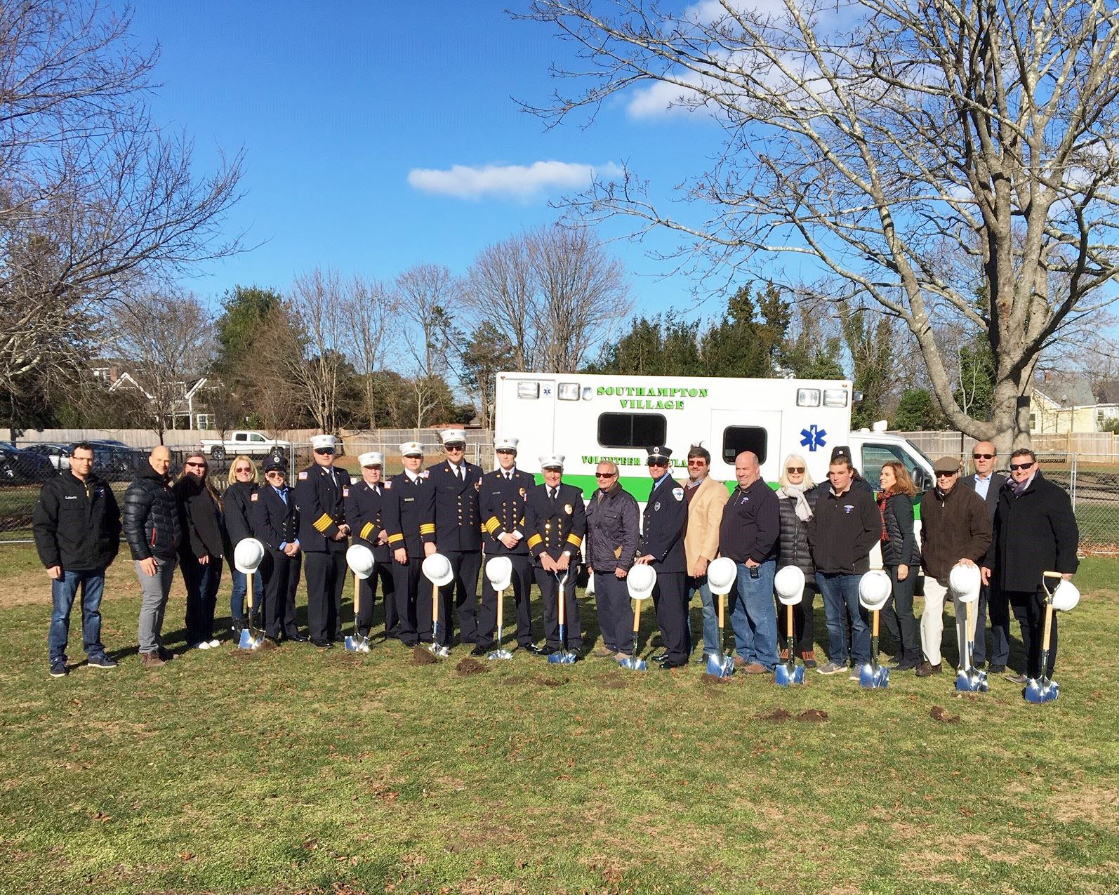 Image of Ambulance Center Groundbreaking Ceremony